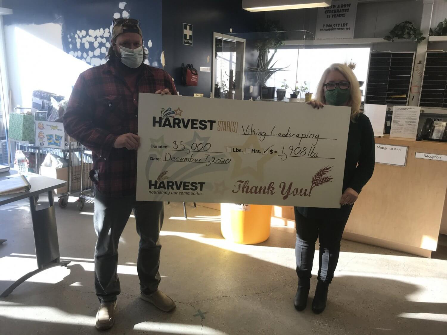 harvest Manitoba donation